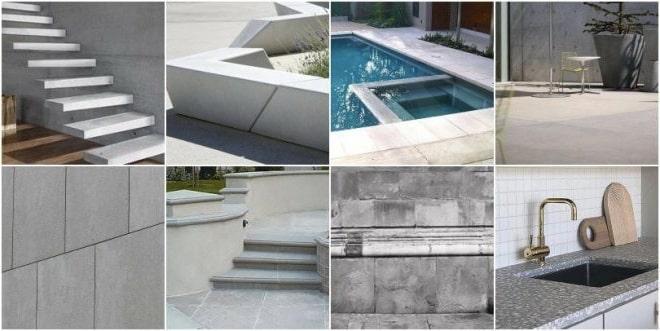 применение архитектурного бетона