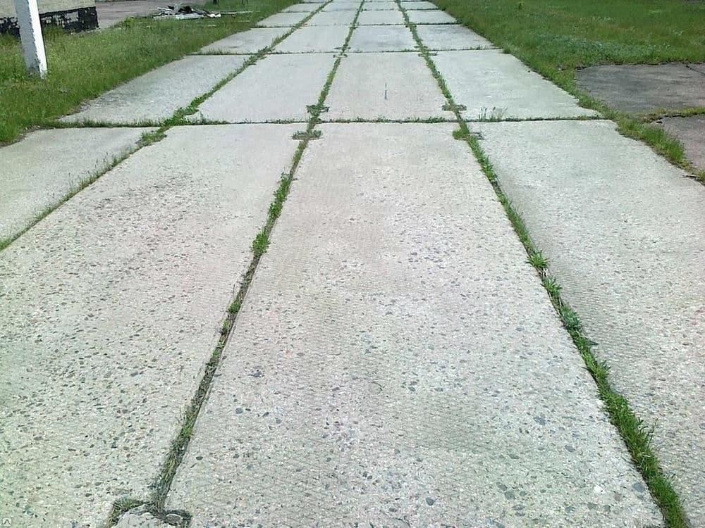 дорога из жб плит