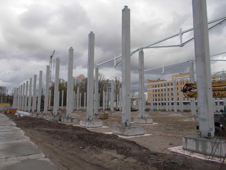 бетонные колоны