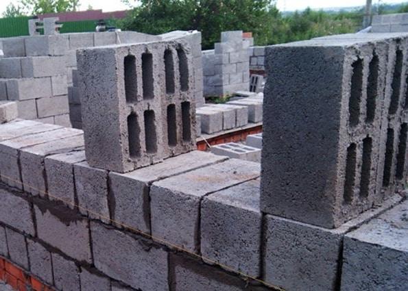 блоки из керамзита и бетона