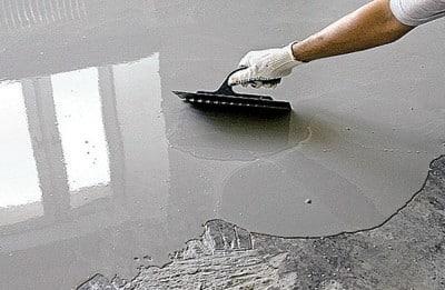 заливка полимерных смесей