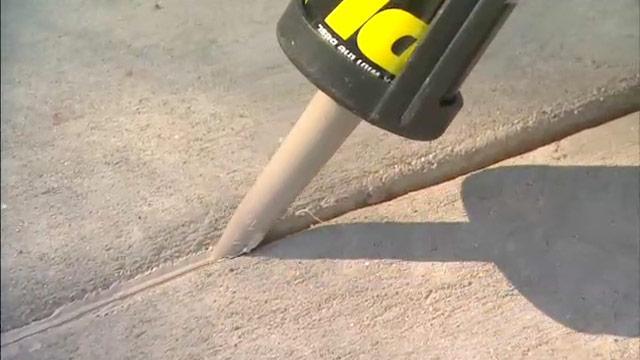 Использование герметиков для бетона