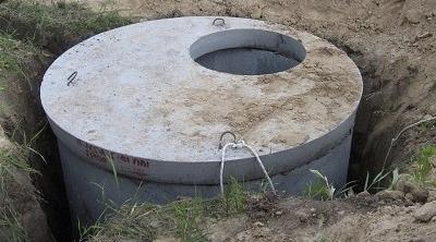 из бетонных колец