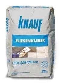 Клей для плитки «Флизенклябер» KNAUF