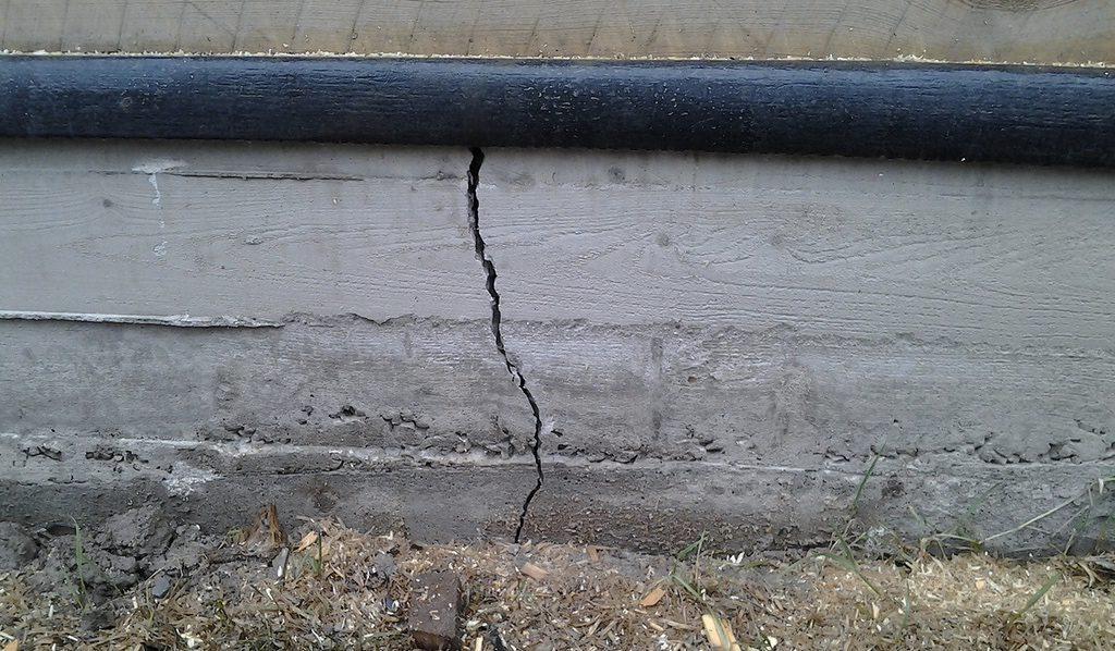 трескается цементный раствор