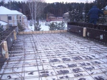лед на бетоне