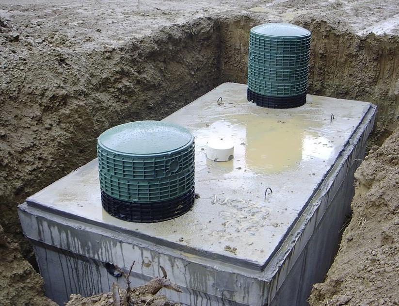 септик бетон промышленный