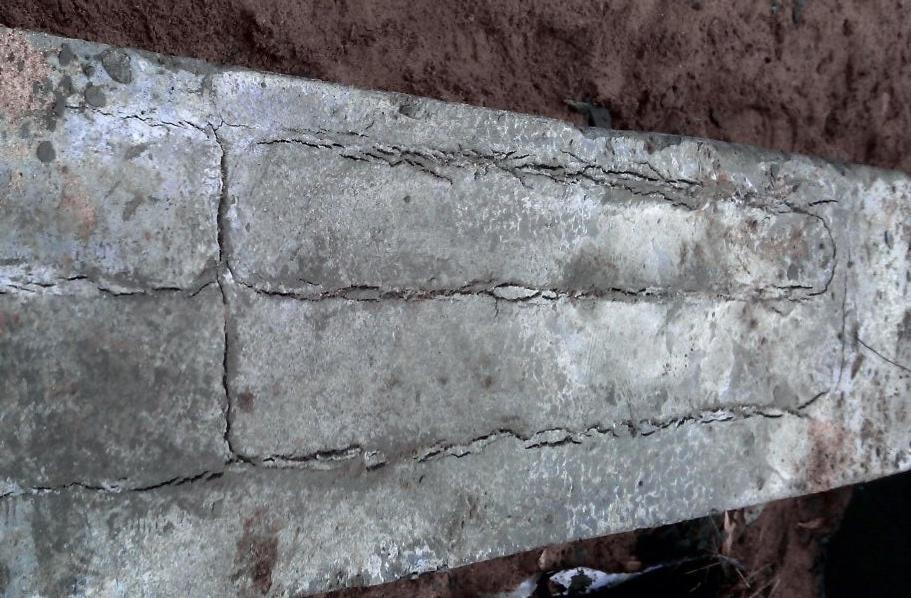 Бетон растрескивается расчет бетонной смеси фундамента