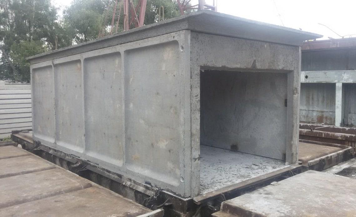 Купить гараж из бетона бгс бетон