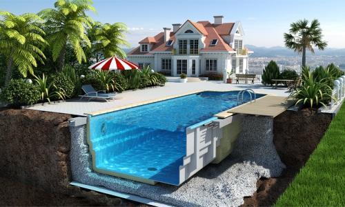 Постройка бассейна по проекту
