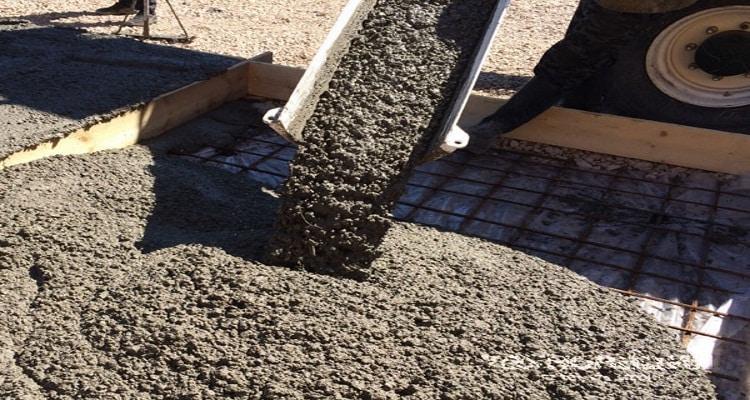 Бетонные смеси для изготовления бетонных изделий