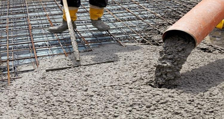 Рециклированный бетон разбитие бетона