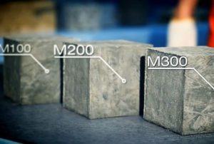 кубы бетона