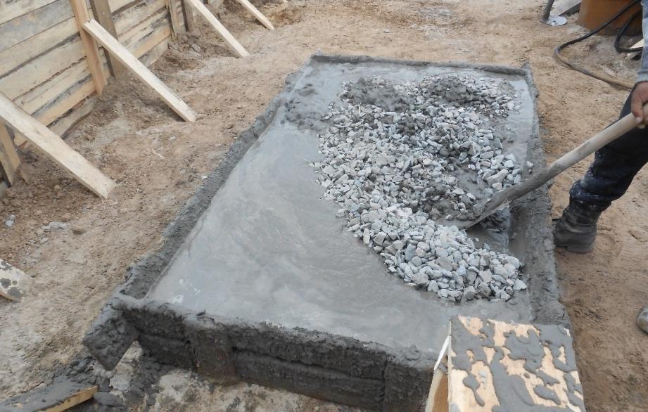 замещиваем бетон