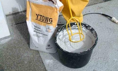 Клей для пеноблоков используется вместо раствора