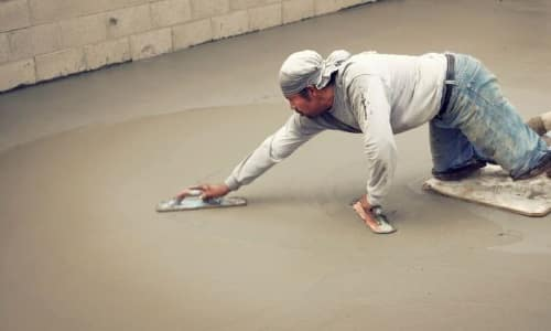 Железнение бетона своими руками