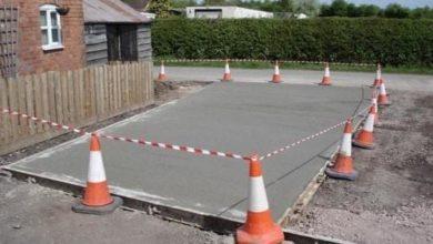 Изготовление парковки из бетона