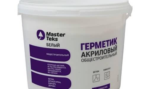Акриловые герметики для наружных работ применять не рекомендуется