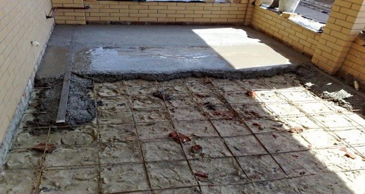 Подушка под бетон