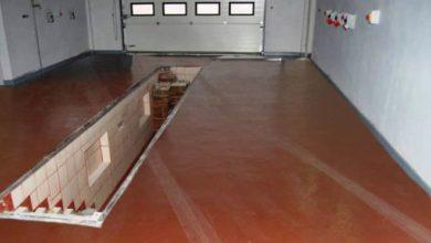 Покраска бетонного пола в гараже без пыли