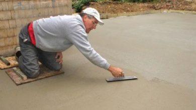 Технология железнения бетонных поверхностей