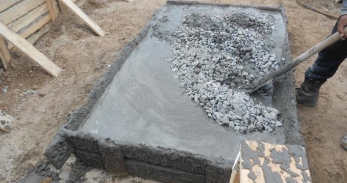 наполнители бетона