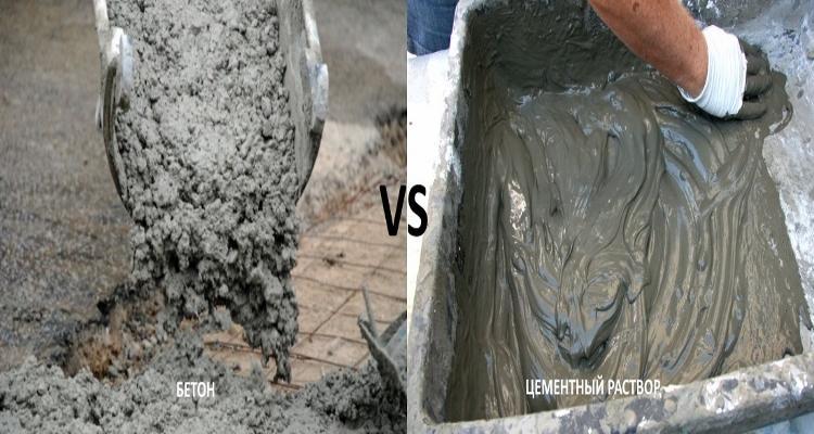 Цемент и бетон
