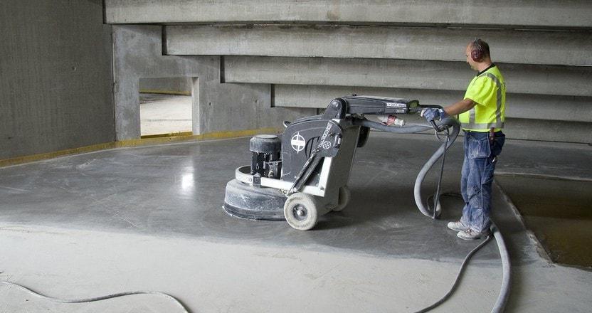 Шлифовальные машины для бетонного пола