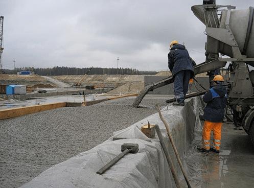 Залив бетона штукатурка цоколя цементным раствором своими руками видео