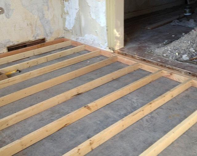лаги на бетон