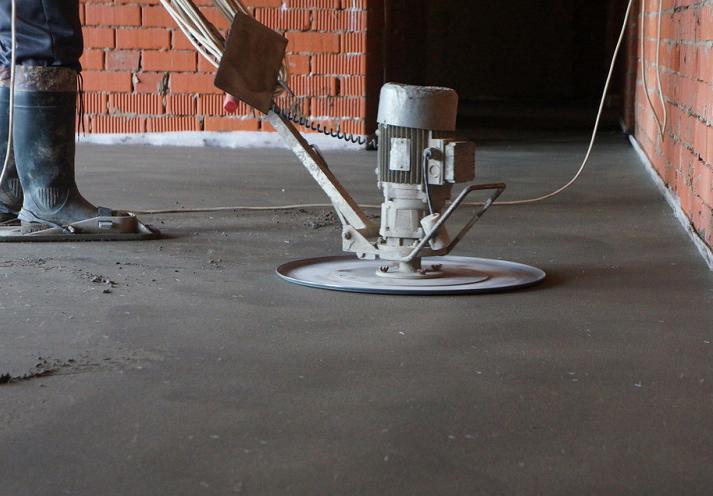 шлифовка бетонного пола