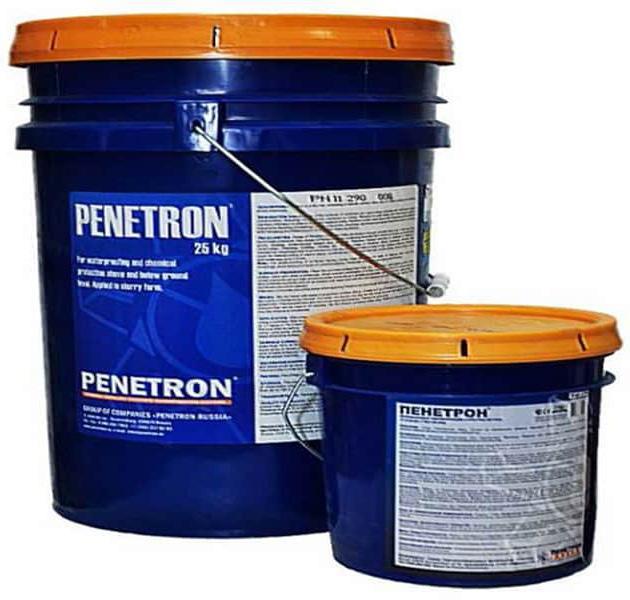 водоотталкивающая добавка пенетрон