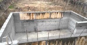 заливка стен