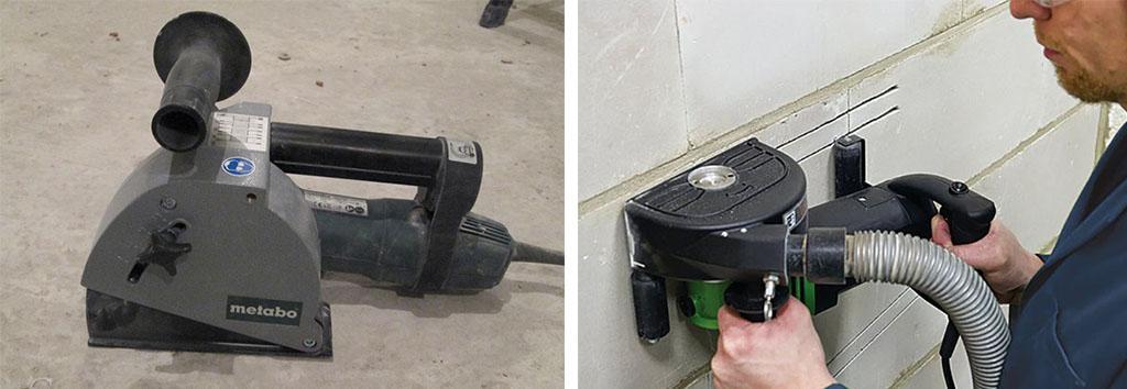 Штроборез для шробления стен
