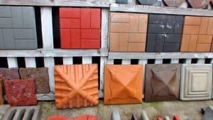 Колпаки бетонные