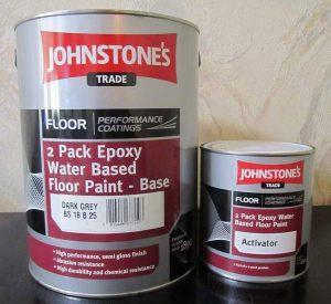 Эпоксидная краска для бетона
