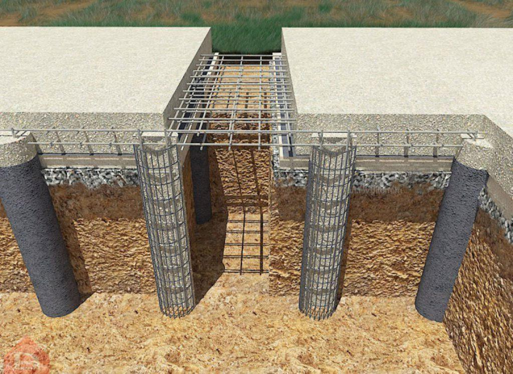 бетон под сваи