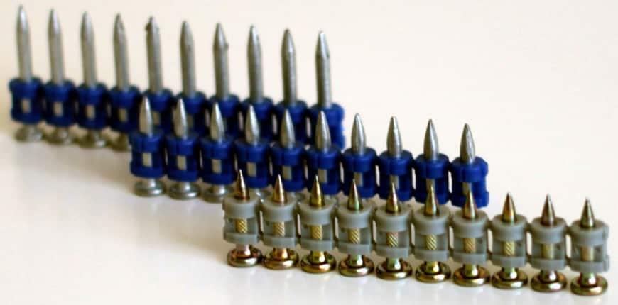 гвозди для монтажного пистолета по бетону