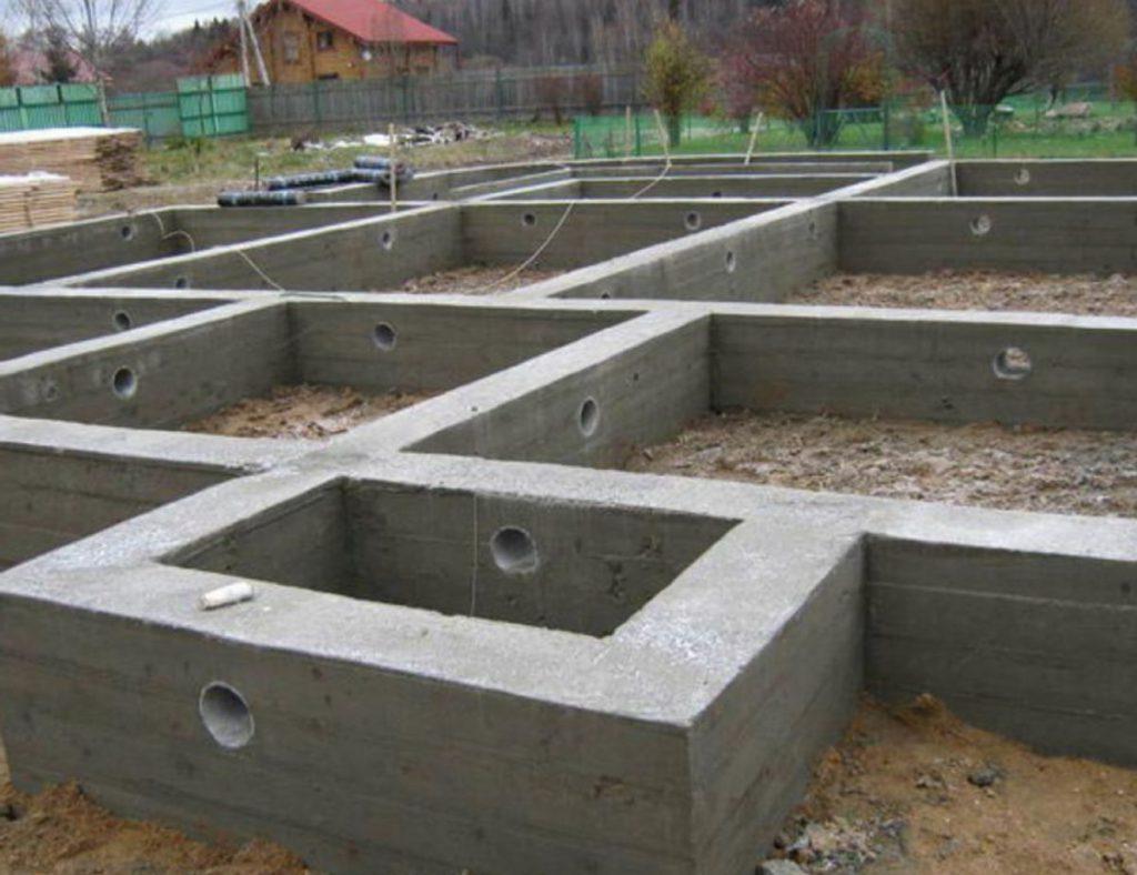 как ухаживать за залитым бетоном