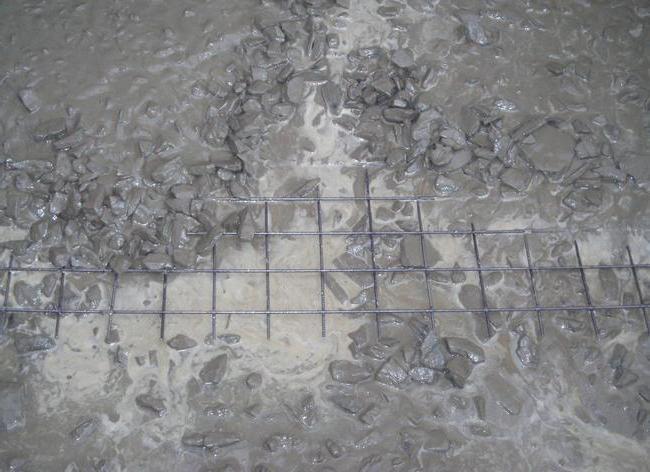 как заливать цемент в дождь