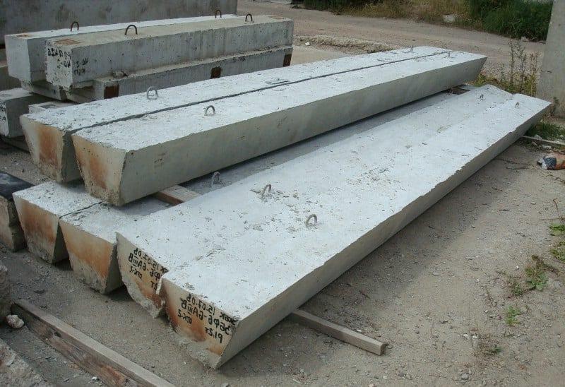 маркировка бетонных балок