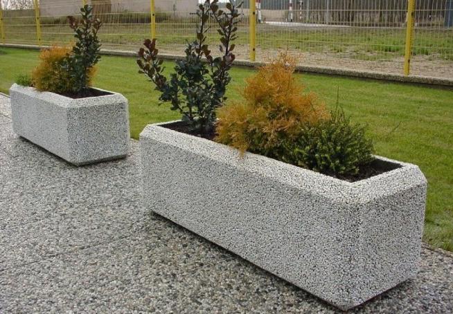 мытый бетон в декоре
