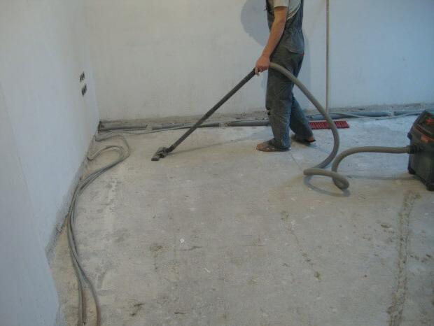 подготовка бетона под наливной пол