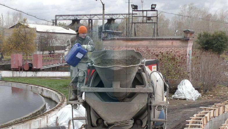приготовление гидротехнического бетона