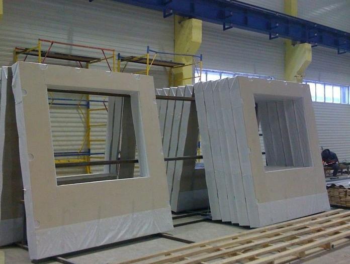 производство стеновых панелей