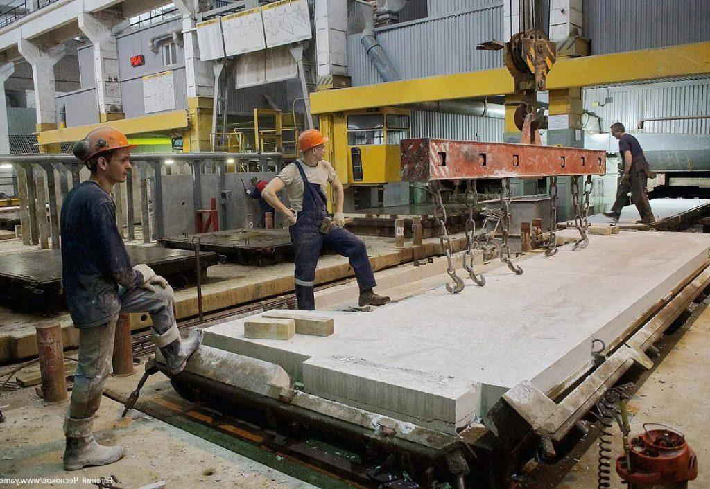 производство железобетонных панелей
