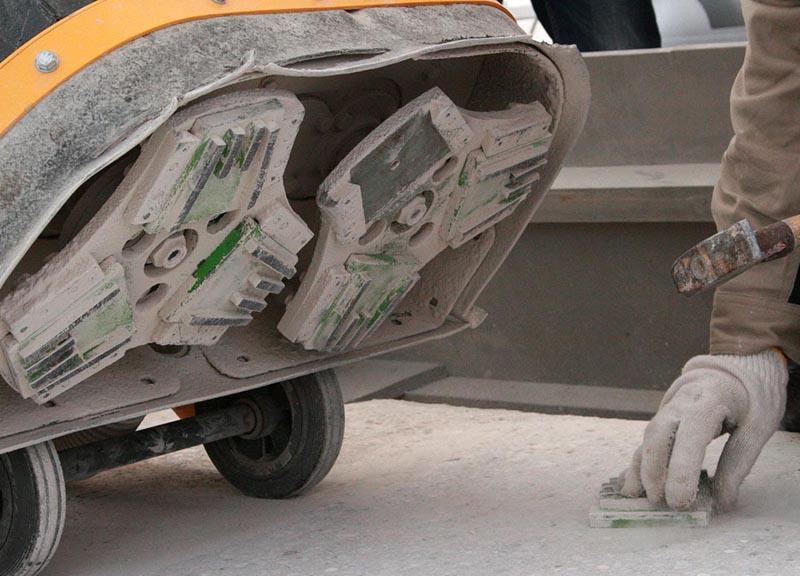 рабочая поверхность машины
