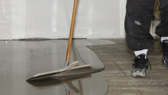 работа с наливным полом