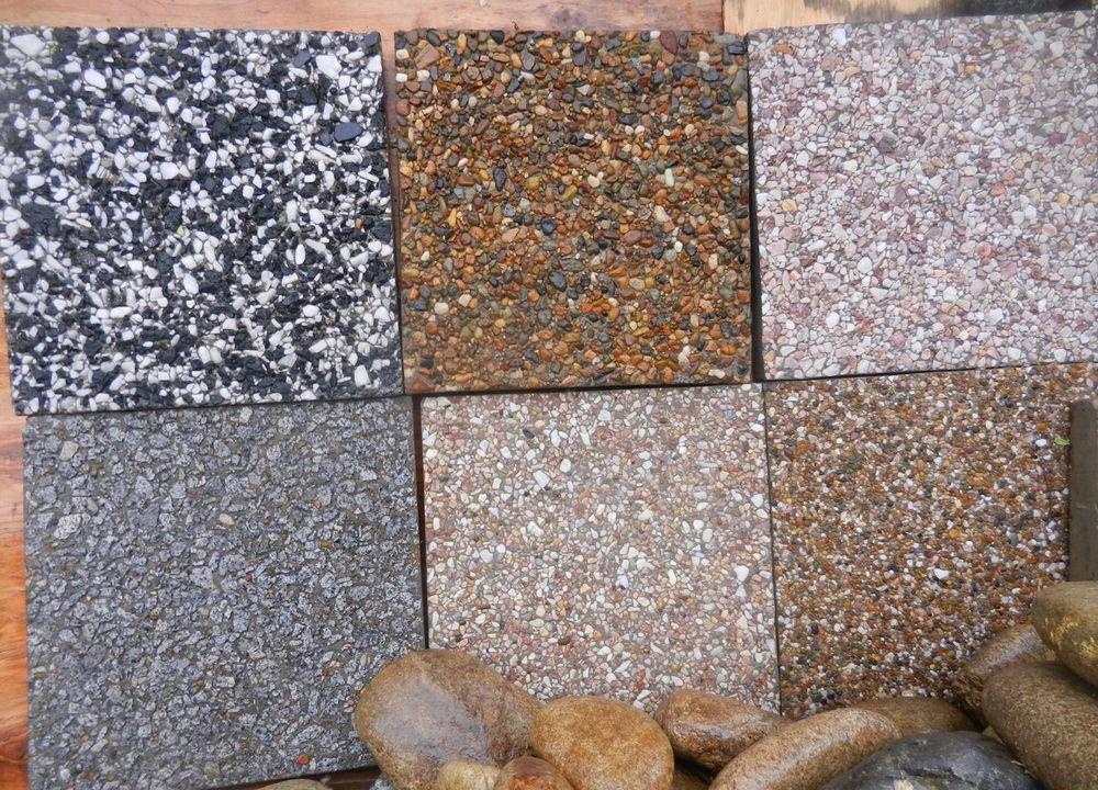 разновидности мытого бетона