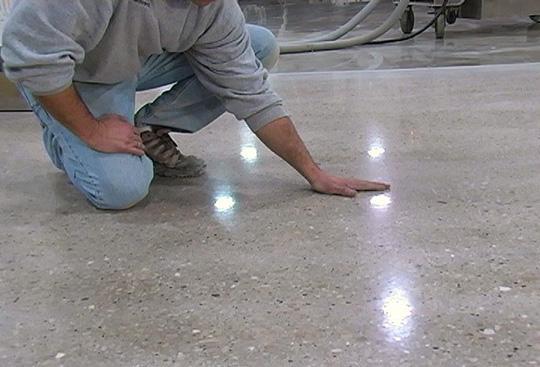 шлифовка бетонного рола